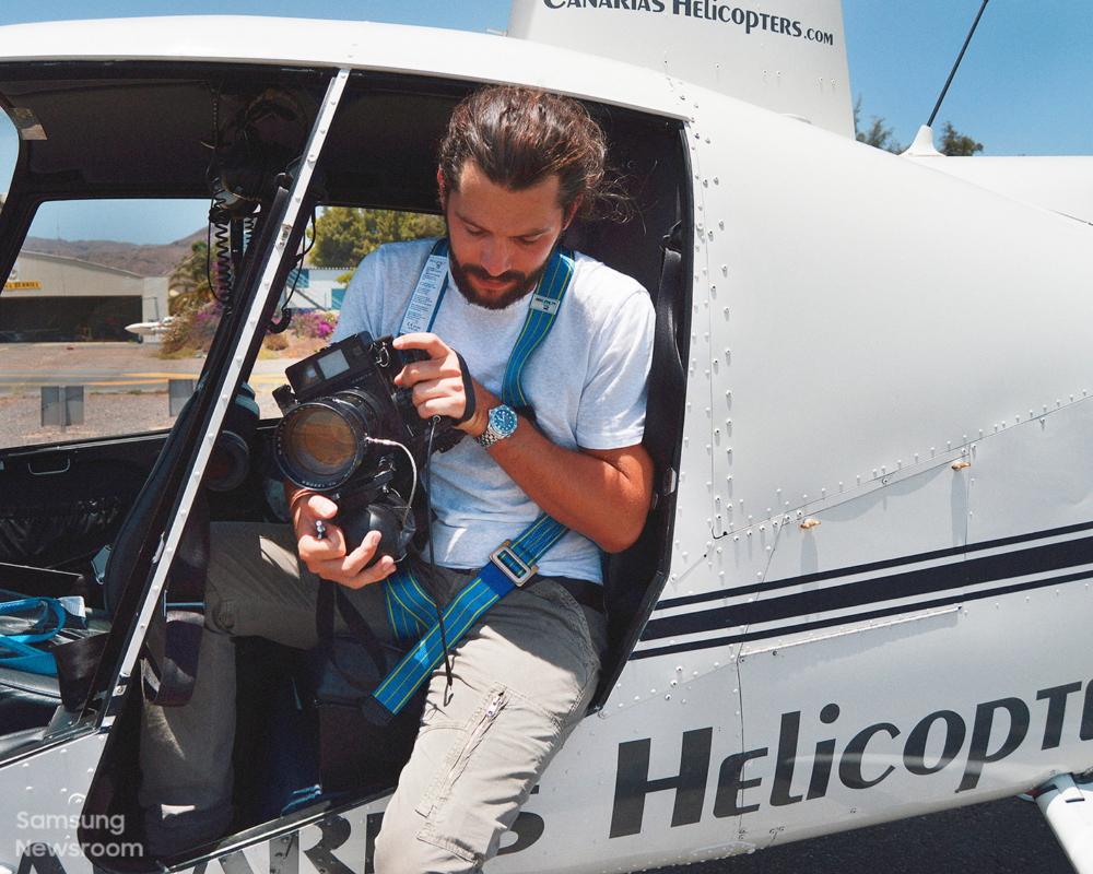 Аэрофотограф Томми Кларк и телевизоры The Frame позволяют взглянуть на мир с высоты