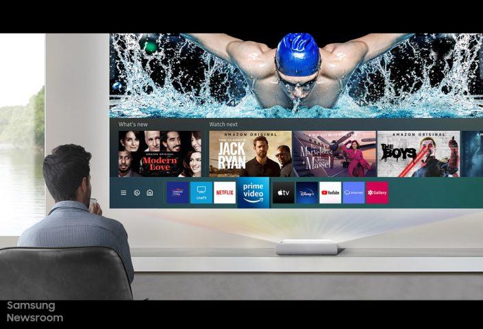 三星The Premiere 超短焦雷射4K電視