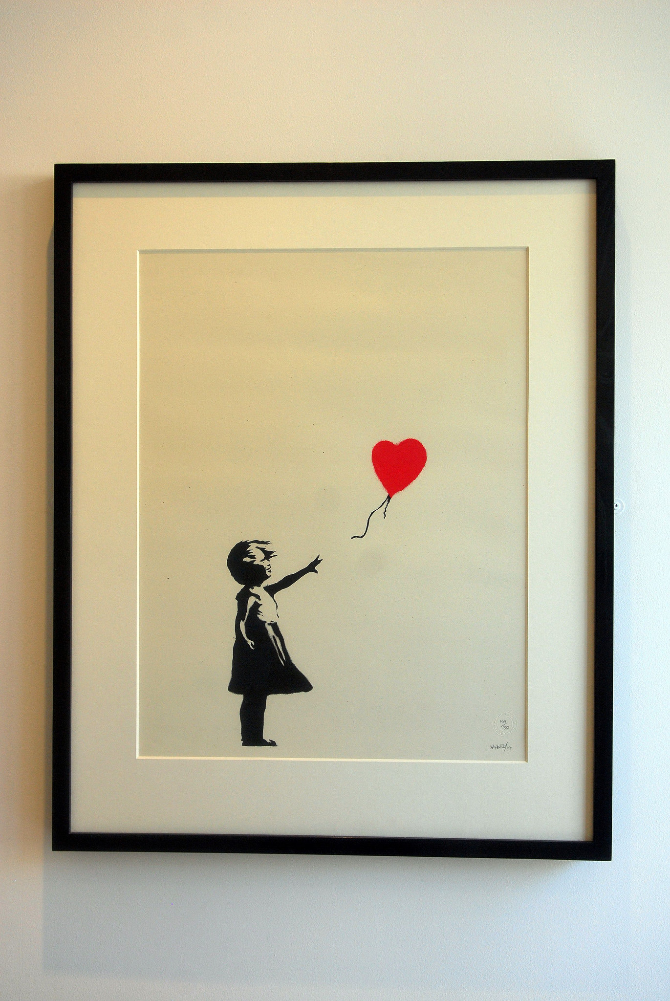 659ce97e8a4c Street artist Banksy has been ranked ahead of the likes of Turner and  Constable with his Balloon Girl ranked the nation s favourite British  artwork in a new ...