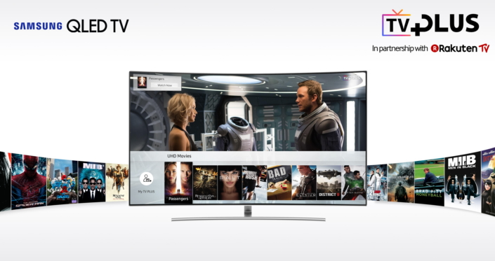 Samsung Expands UHD and HDR Content Offering with TV PLUS
