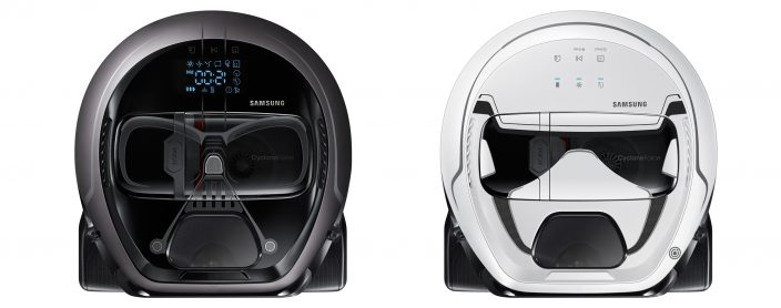 Samsung Launches Star Wars Limited Edition of POWERbotTM Robot Vacuum