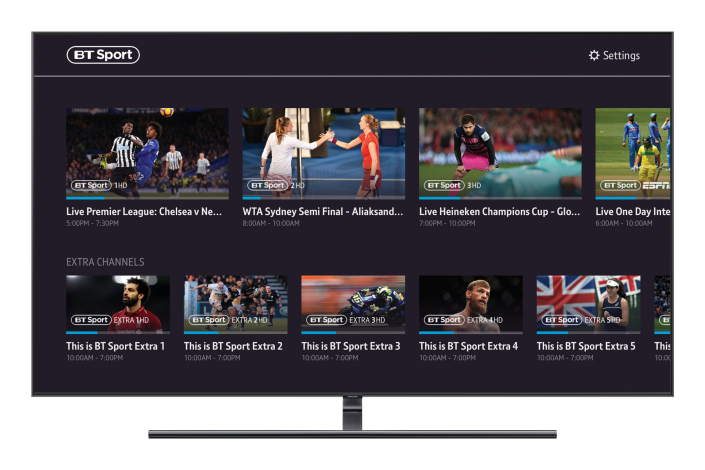 Samsung Sport App