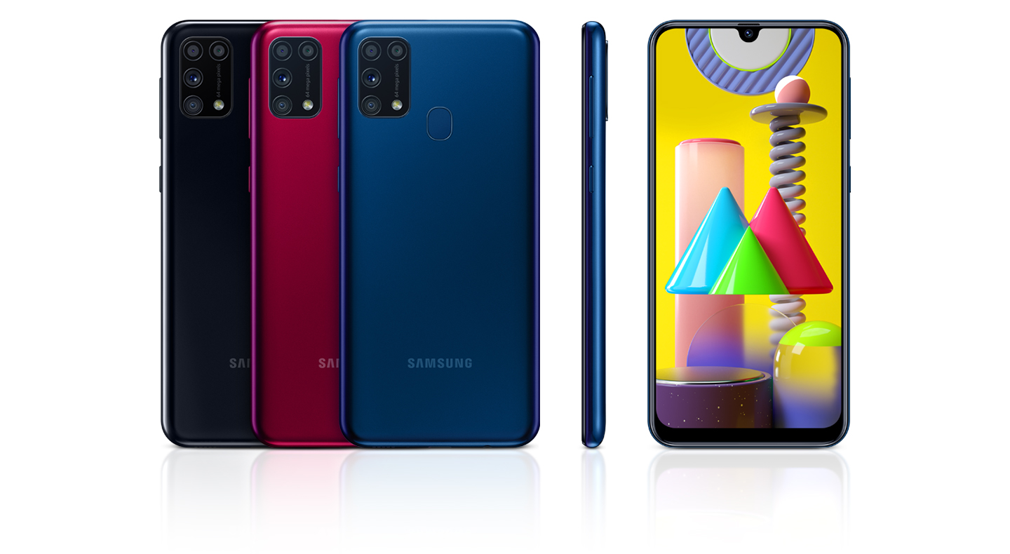 Samsung Brings The New Galaxy M31 To The United Kingdom With A Quad Camera And 6 000mah Typical Battery Samsung Newsroom U K