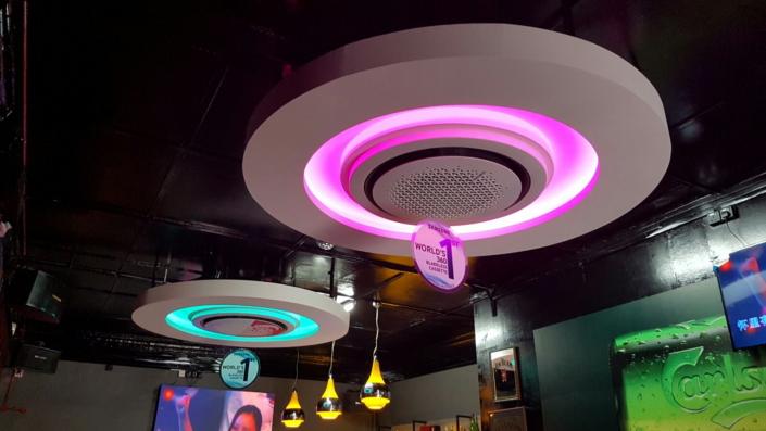 Cassette 360 được lắp đặt tại các nhà hàng nằm trong khu vực Tanjong Pagar  ở Singapore