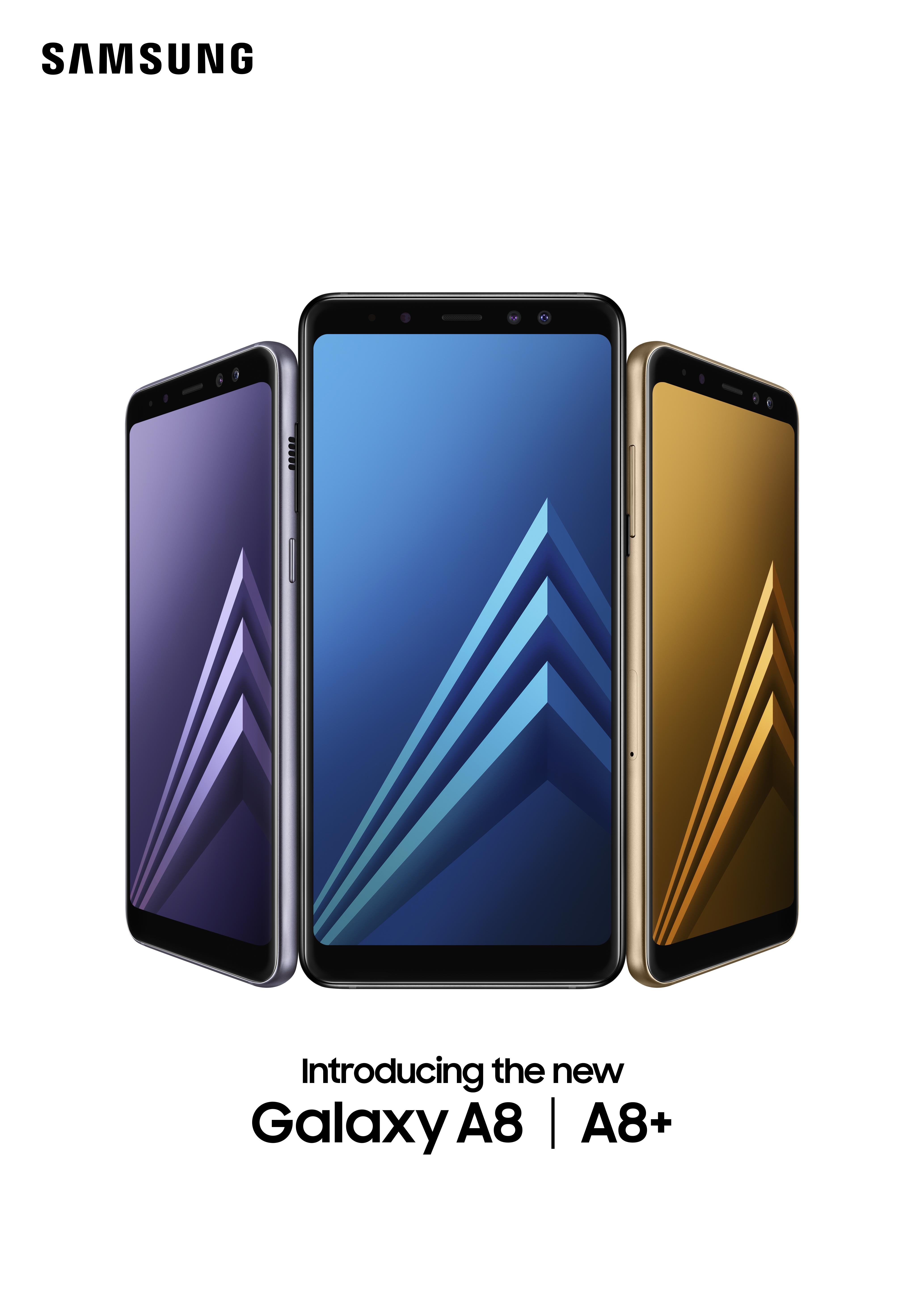 Công ty Điện tử Samsung Vina chính thức giới thiệu dòng điện thoại Samsung Galaxy A8 và A8+ tại Việt Nam. Đây là dòng điện thoại đầu tiên của Samsung được ...