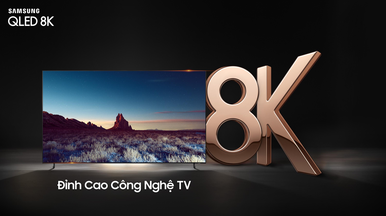 Để mang đến chất lượng hình ảnh 8K, TV Samsung Q900R được trang bị Độ phân giải chuẩn 8K có khả năng cung cấp độ sáng tối đa lên đến 4,000 nit, ...