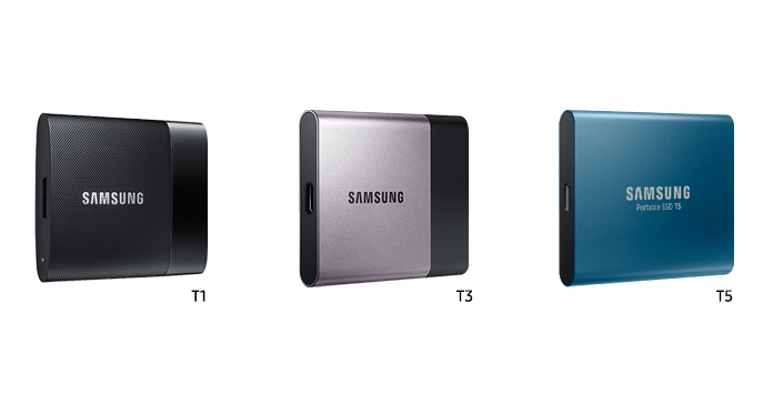 different series of external storage