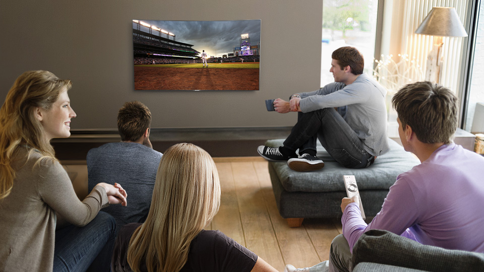 With QLED tv, every seat is a great seat preventing colour distortion to the onscreen picture