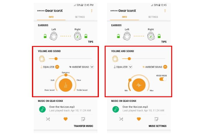 Samsung Announces Gear IconX (2018) Software Update