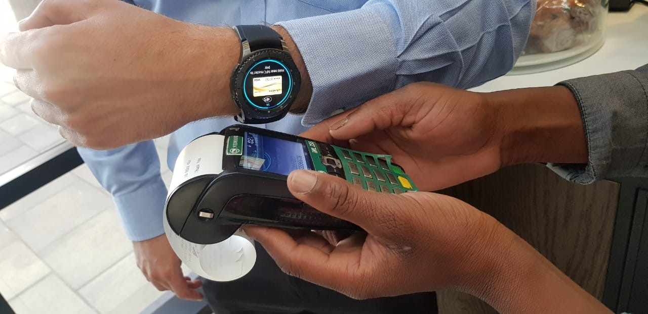 Samsung Pay Launched On Samsung Wearables Samsung Newsroom South